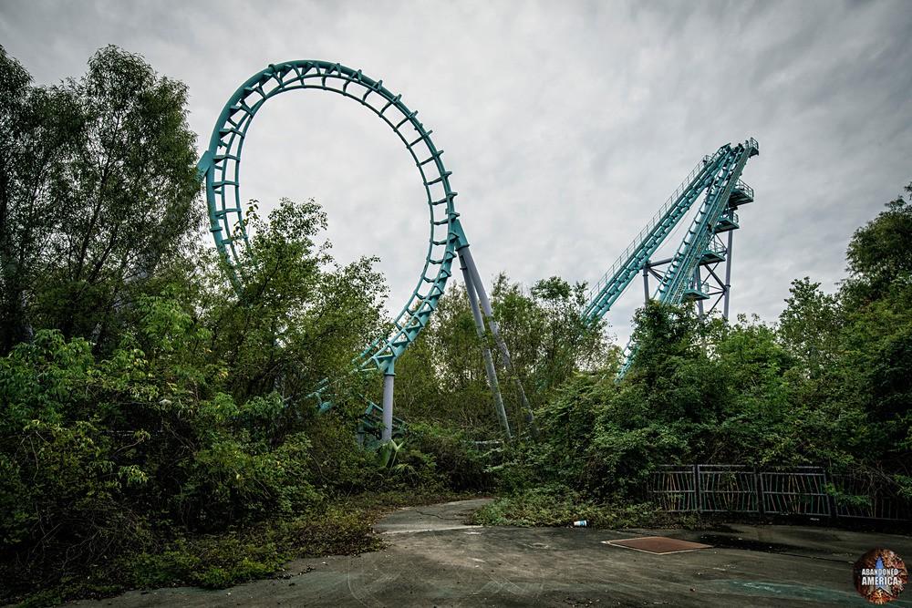 Six Flags (New Orleans, LA) | Distant Zydeco Scream - Six Flags New Orleans