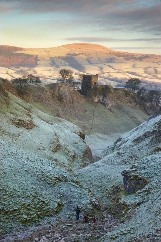 Cavedale - Peak District Winter
