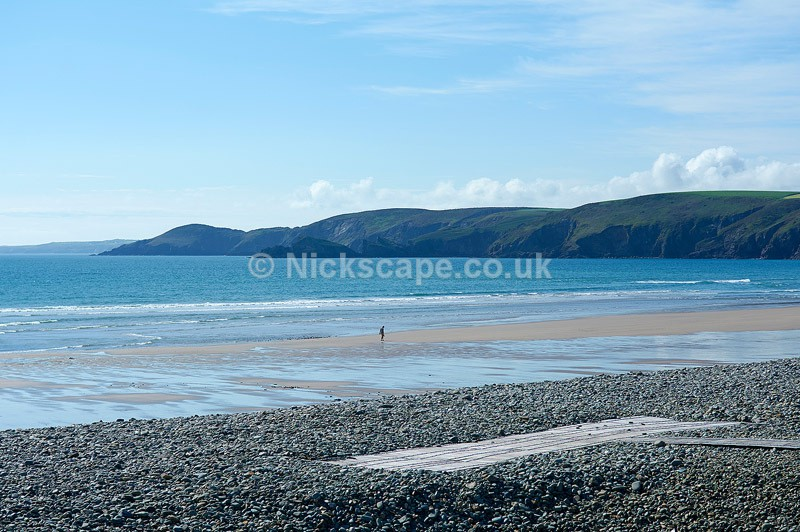 Photo of the beautiful Newgale Beach in Pembrokeshire