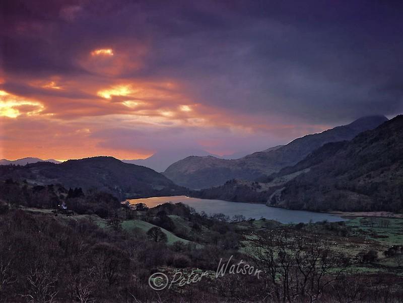 Llyn Gwynant Snowdonia - Wales
