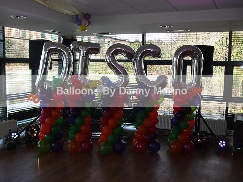 Disco Towers - Birthday Balloons