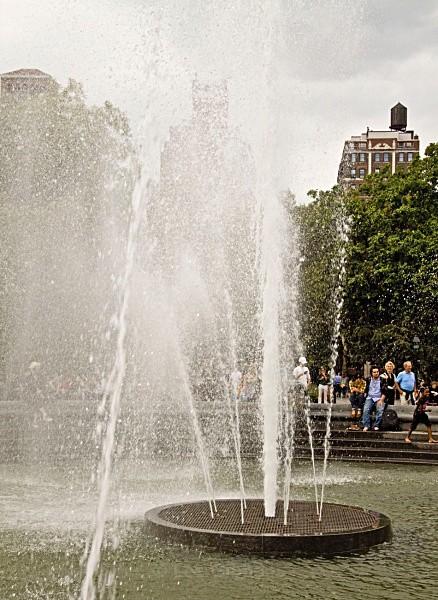 washington park fountain2 - New York