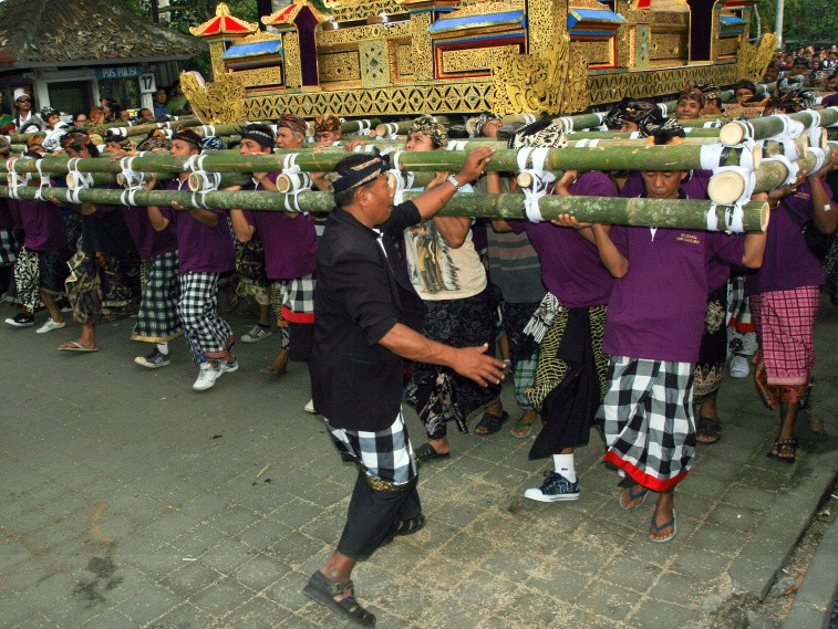 - Cremation Ceremony in Ubud