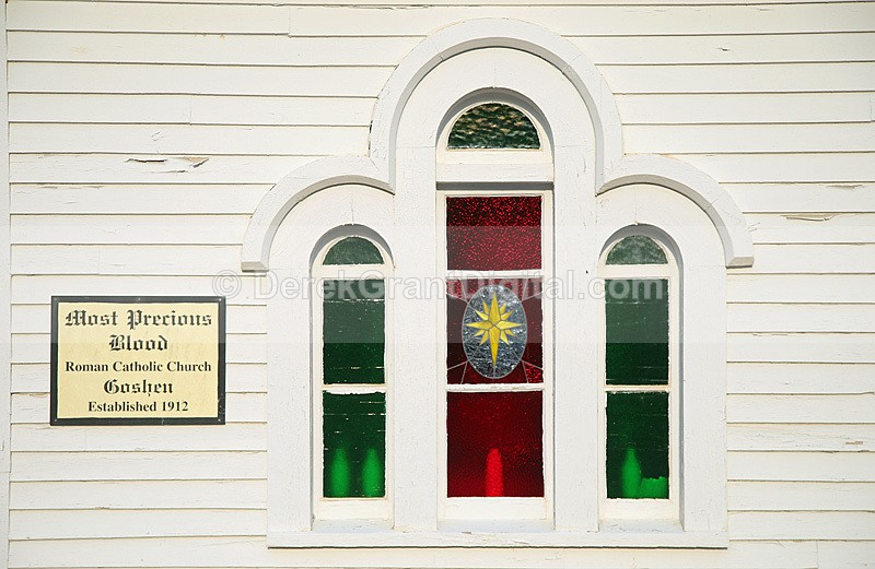 Goshen Roman Catholic Church Most Precious Wood NB Canada - Churches of New Brunswick