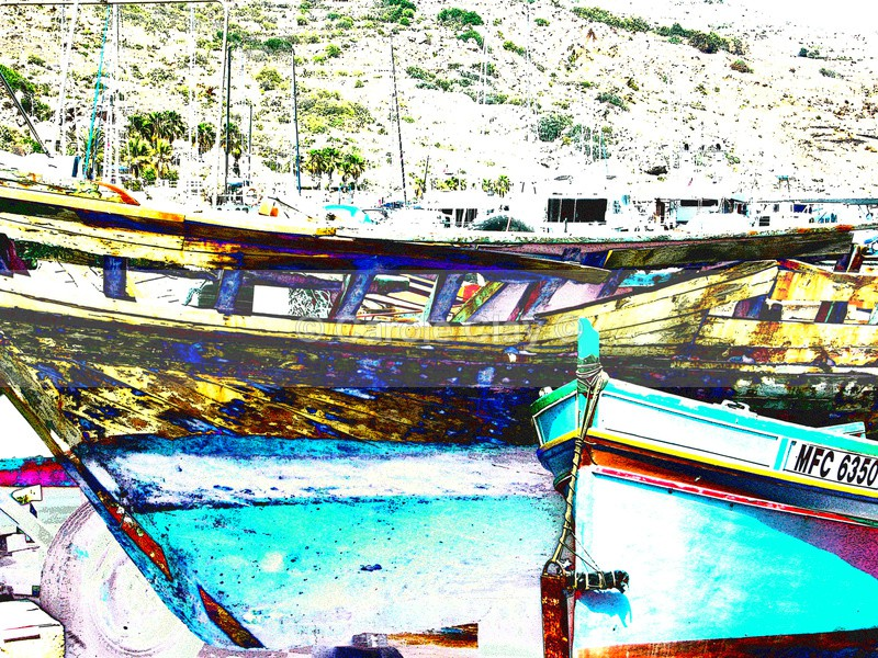 Fishing Boats Gozo 2 - Boats
