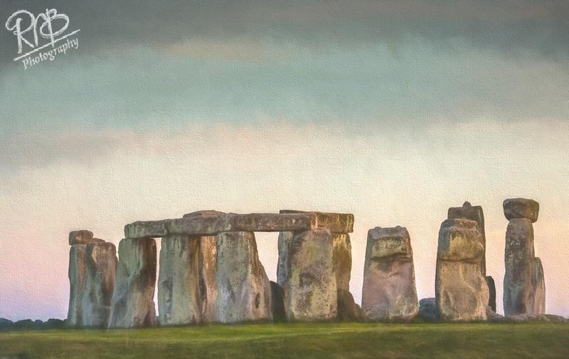 Stonehenge - Digital Paintings