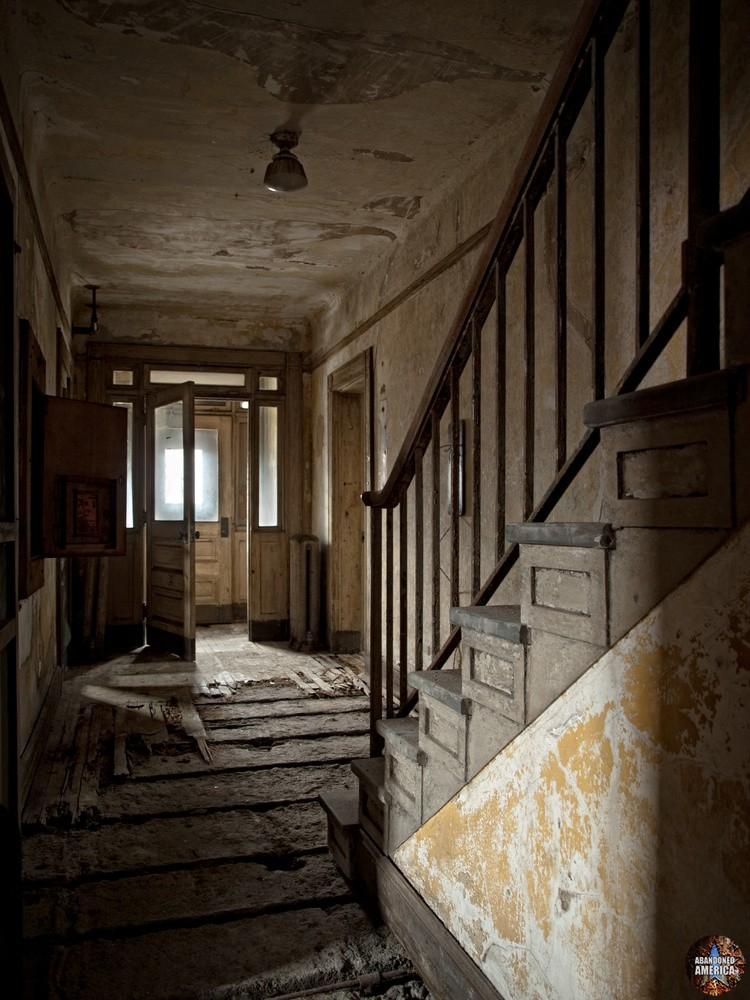 Ellis Island Immigrant Hospital | Exit - Ellis Island Immigrant Hospital