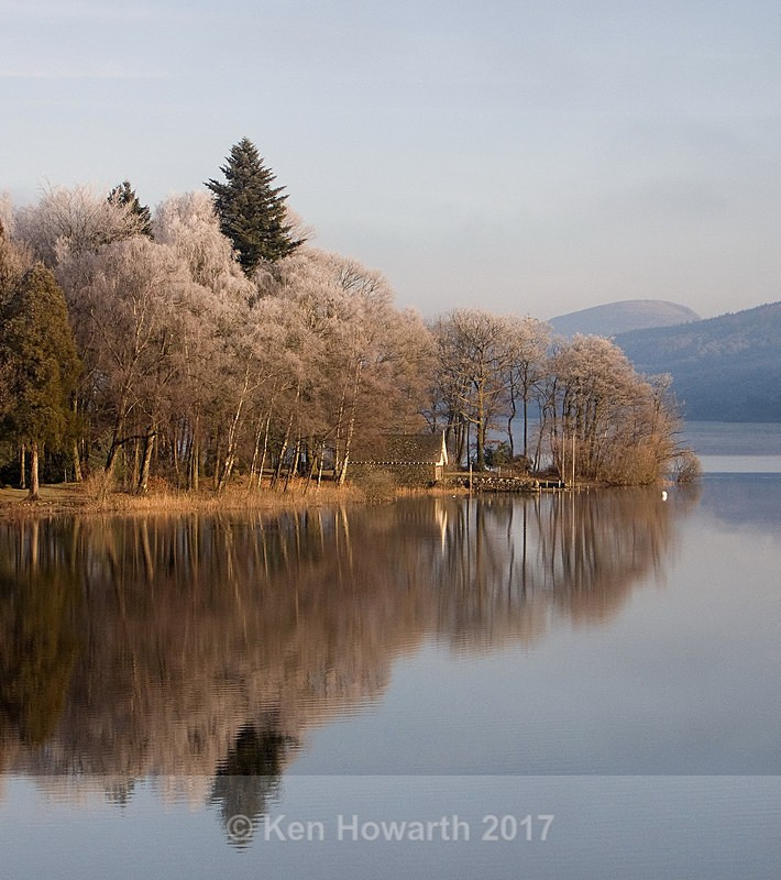 A winter morning on Coniston Water - Lakeland Landscapes