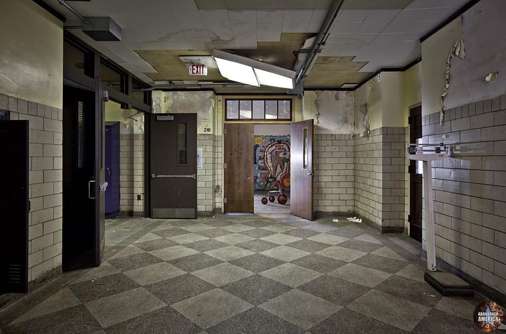Bok Technical School (Philadelphia, PA) | Falling Fluorescent Lights - Edward M. Bok Technical School