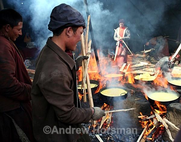Monks Making Tea 1 - Travel 2