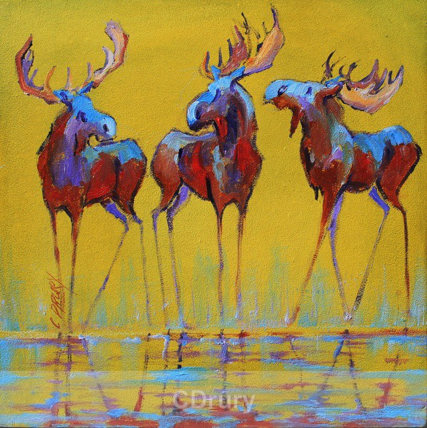 Splash SOLD - Colorful Critters