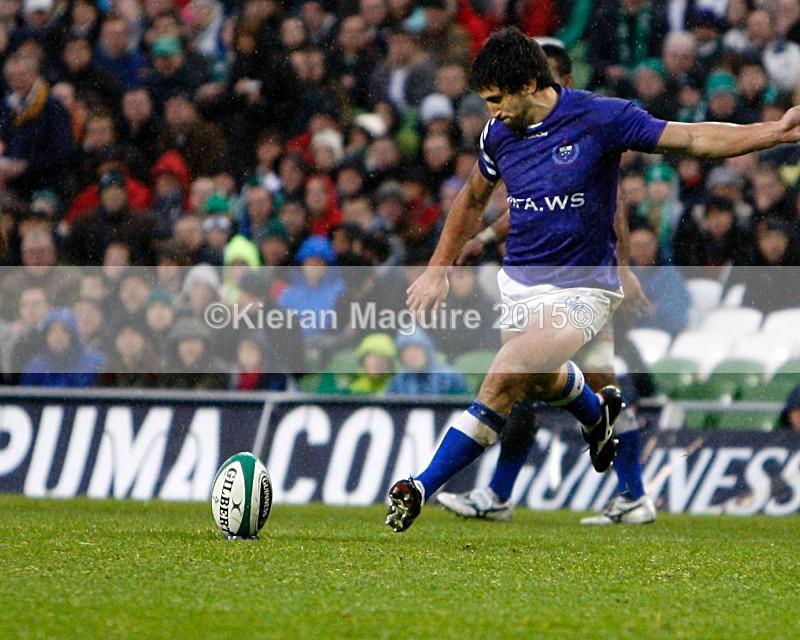 _I2H6050 - Ireland v Samoa - Guinness Series - Aviva Stadium - Dublin - 13/11/2010 Ireland 20 v 10 Samoa