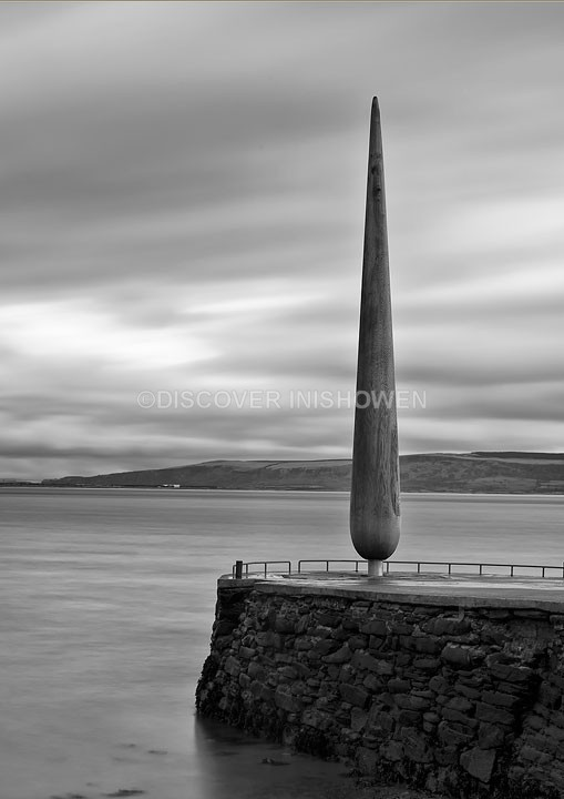 The Fid - Inishowen peninsula- B&W