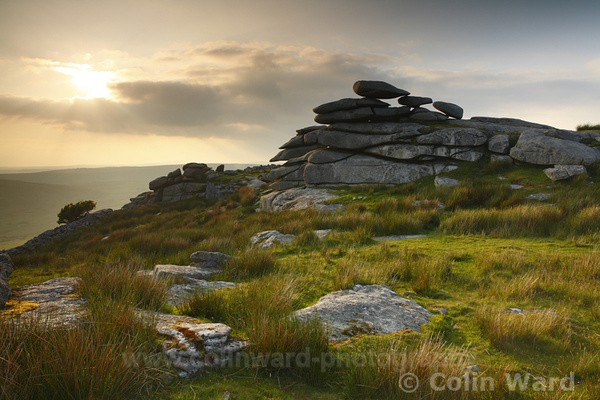 The Cheeswring, Bodmin Moor. Ref 2790 - Cornwall