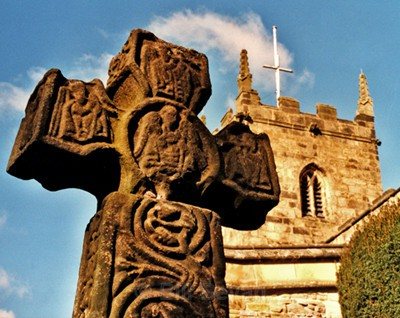 Eyam Cross - Ancient Peakland