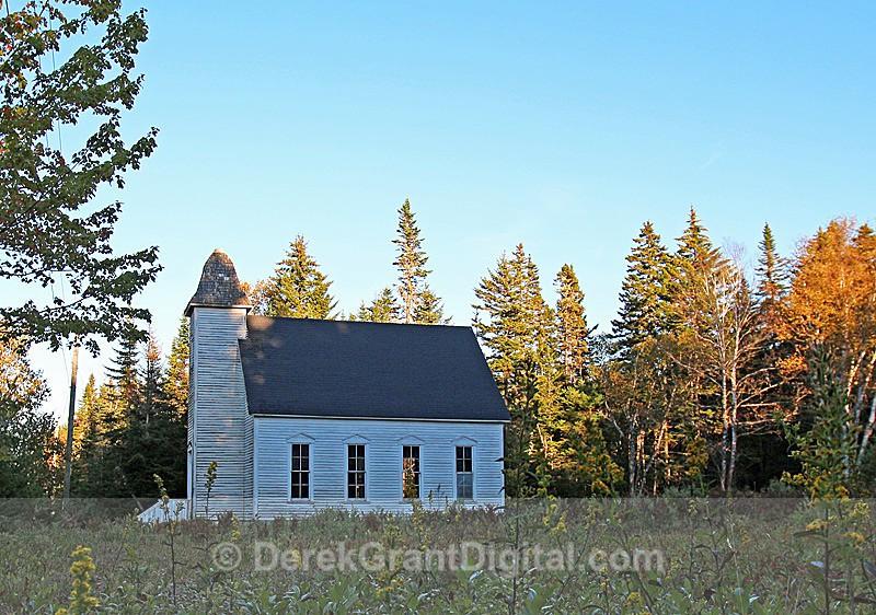 South Musquash Baptist Church New Brunswick, Canada  - 1 - Churches of New Brunswick
