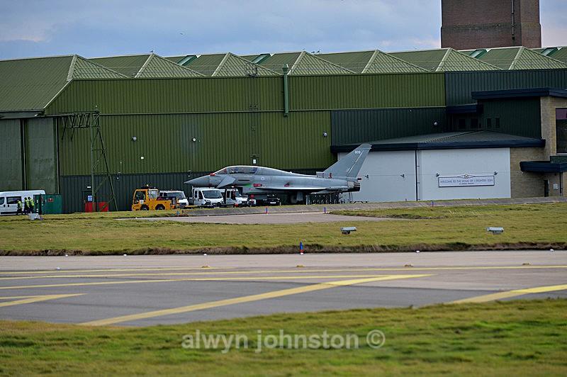 TYPHOON - RAF LOSSIEMOUTH VISIT NOV 2017