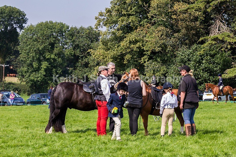 8KJS5207 - Horse show at Home Farm Sywell.