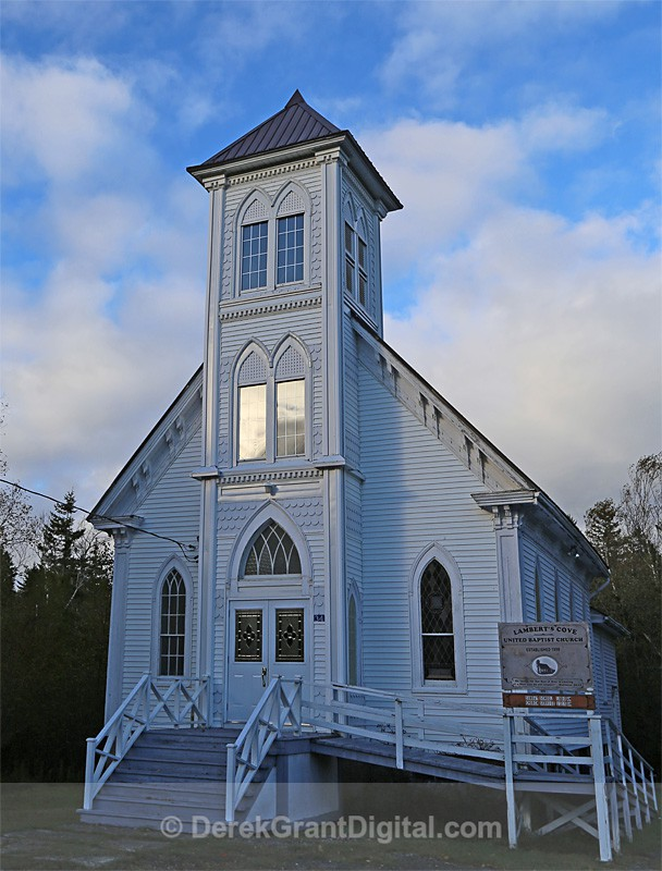 Lambert's Cove United Baptist Church Deer Island New Brunswick Canada - Churches of New Brunswick