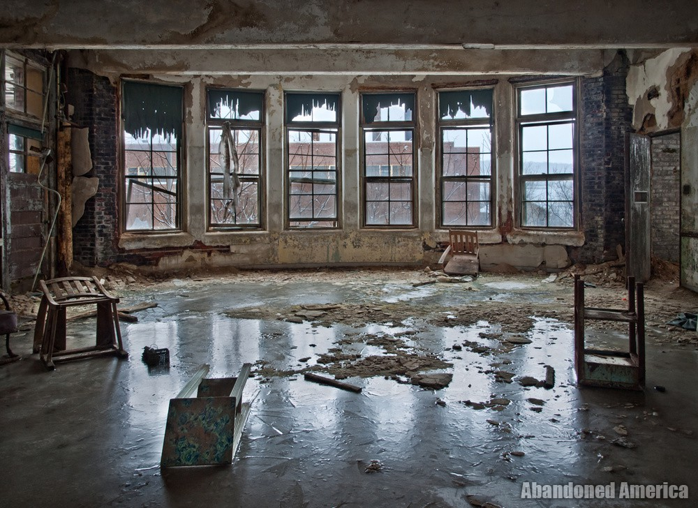 Icy Floor | Norwich State Hospital