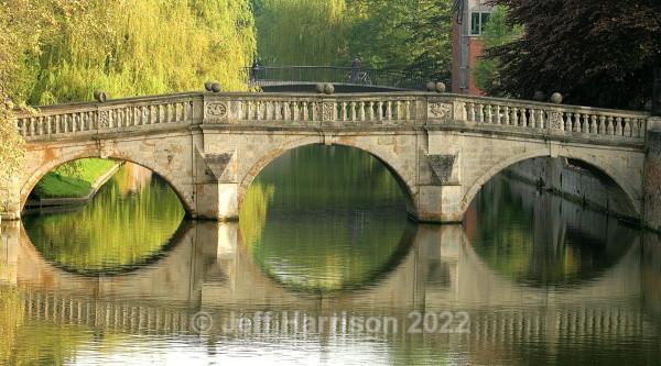 Clare College Bridge, Cambridge (image Cam 001) - Urban Landscapes & Buildings