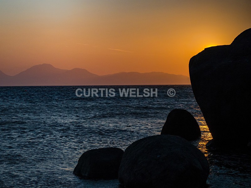 Sunset over Jura - WEST of SCOTLAND
