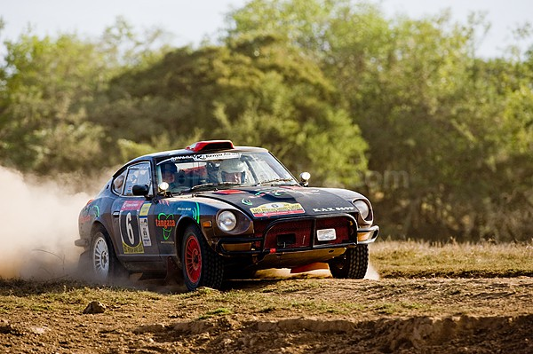 East Africa Safari Classic Rally 2009, Datsun 240Z, Nick Mason