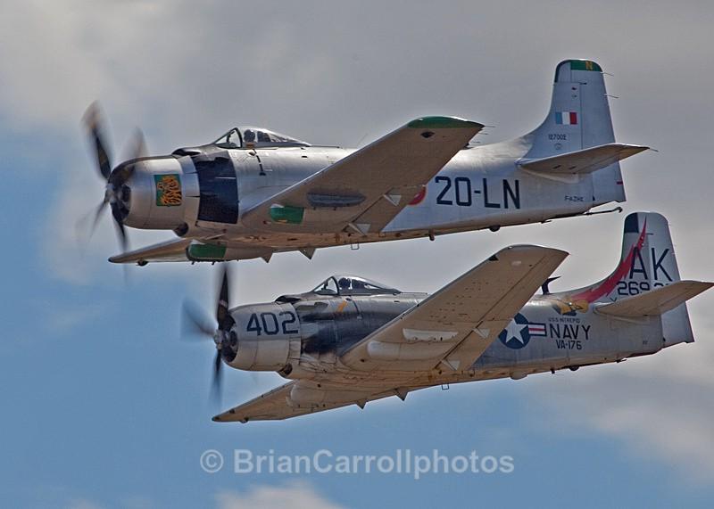 Douglas A-1 Skyraiders