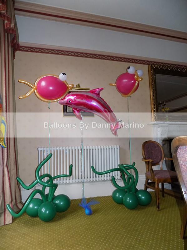 Floating fish - Birthday Balloons