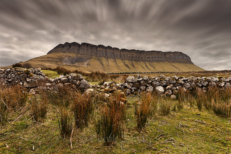 Benbulbin, sometimes spelled Ben Bulben or Benbulben - County Sligo