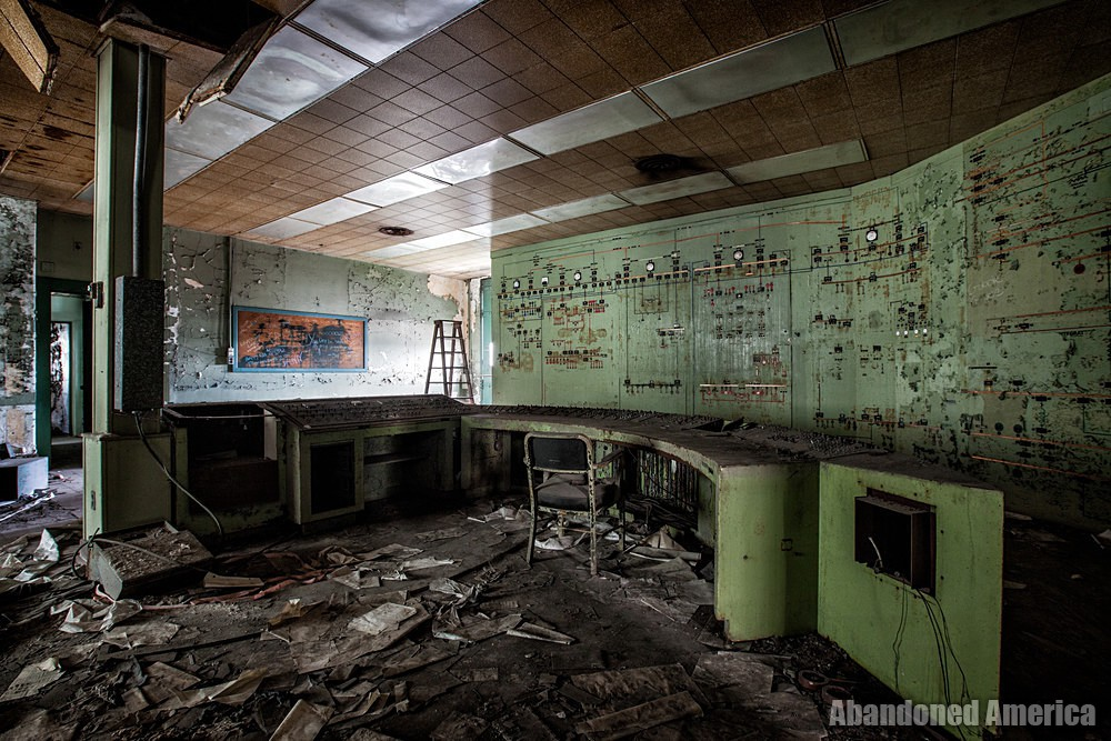 Lackawanna Steel (Lackawanna, NY)   Administration Control Panels - Lackawanna Steel (Lackawanna, NY)