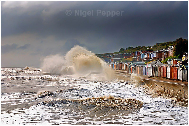 Power Of The Sea - Dramatic Weather