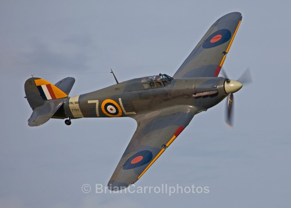 Royal Navy Hawker Sea Hurricane 1b