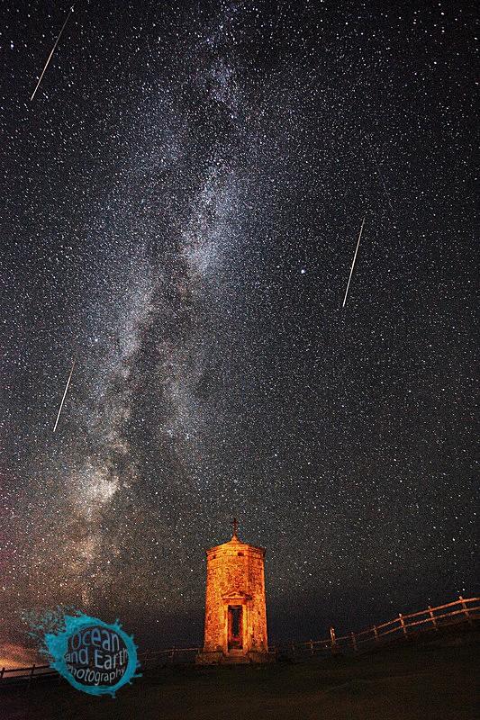 Perseid Meteor Shower - Landscapes