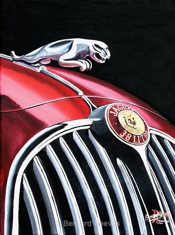 3.8 Jaguar badge - Classic Car Badges