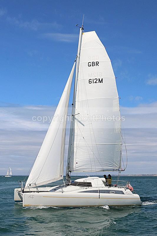 150809 MAILYS MALDIVES GBR612M WT7A9766 - Sailboats - multihull
