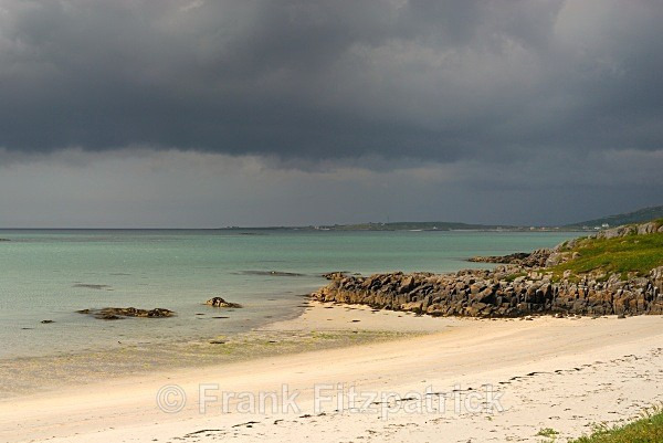 Princes Bay, Island of Eriskay, Outer Hebrides, Scotland. - Eriskay