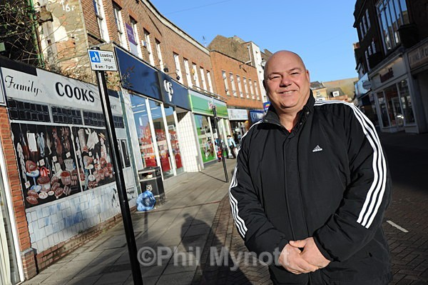 Wisbech Cambs Photo UK professional photographer portrait Editorial UKIP councillor