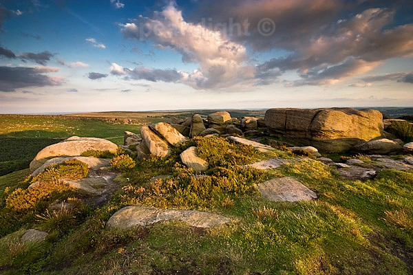 Summer Light - Peak District