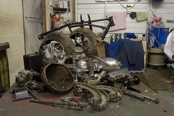 2 - Rudge Motorcycle Restoration