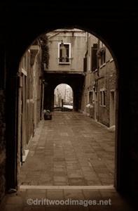 Venice arches - Venice, Italy