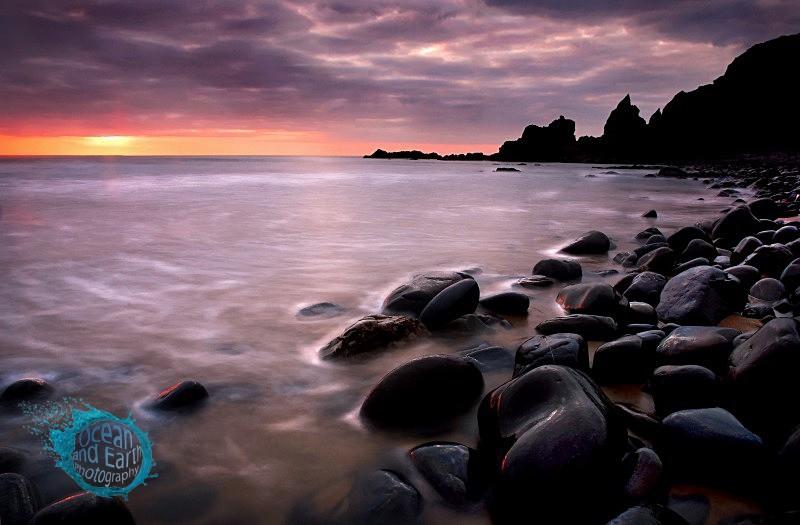 Evening Shoreline - Seascapes