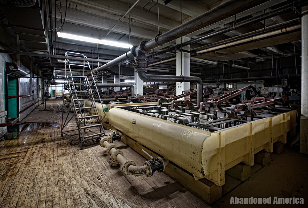 The Demolition of the Hershey Chocolate Factory   Abandoned America