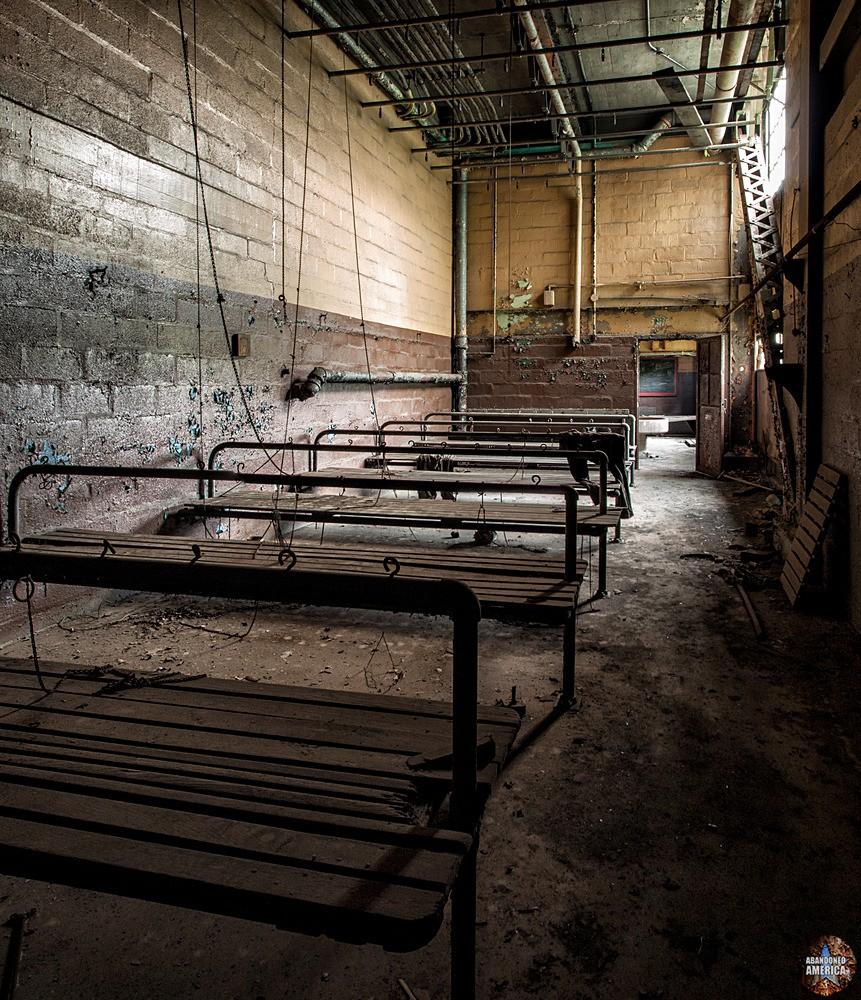 St. Nicholas Coal Breaker (Mahanoy City, PA) | Locker Room - St. Nicholas Breaker
