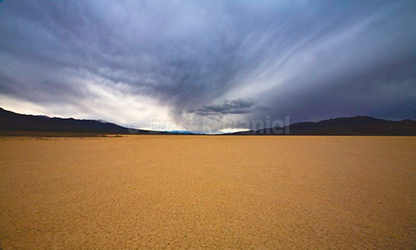 Storm in Death Valley - California