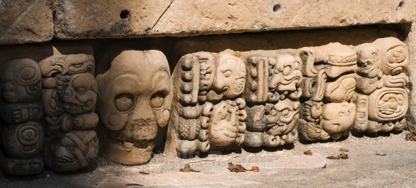Temple Glyphs - Copan