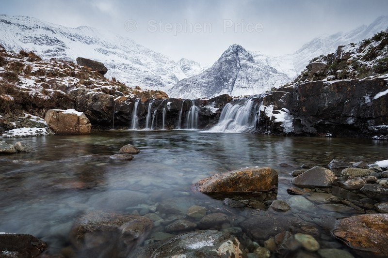 Fairy Pools Glen Brittle | Winter Isle of Skye Scotland Photography