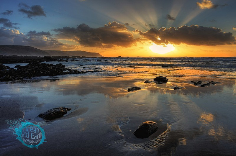 Widemouth Rays - Seascapes