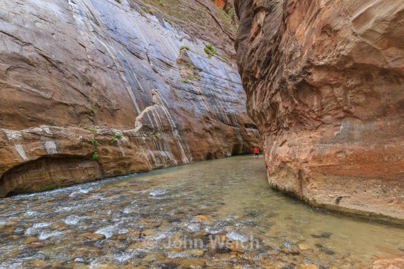 Walking in Water - Utah