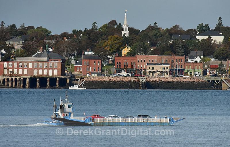 Hopper II Car Ferry Deer Island New Brunswick Canada - Boats